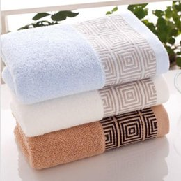 Wholesale New100 Cotton Luxury Soft Clean Wash Hand Face Towel cm TW009 G Gift Business Brand New Good Quality