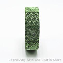 Wholesale Selling Decorative Tape - Wholesale-(1Pc Sell) Glitter Japanese Washi Tape Decorative Scotch Tape Scrapbooking Tools Masking Tape Adhesive Tape