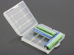 Wholesale amazing cheap price convenient Hard Plastic Case Cover Holder for AA AAA Battery Storage Box