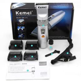kemei electric clipper hair trimmer beard professional rechargeable cutter hair cutting machine hair cut for men hairclipper