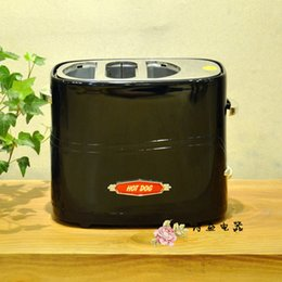 Wholesale Black American Electrics Retro Series Pop Up Hot Dog Toaster Bun Toaster Home Mini breakfast Automatic toaster hot dog and bread