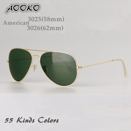 Wholesale Classic Resin Polarized Sunglass Fashion Vintage Sunglasses Men Women Aviador Sun Glasses Brand Designer Oculos de sol mm mm