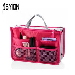 Wholesale Nylon Cosmetic Bags News Multifunction Makeup Bag Travel Bags Storage Toiletry Organizer Bolsa Casual Handbag XG5403