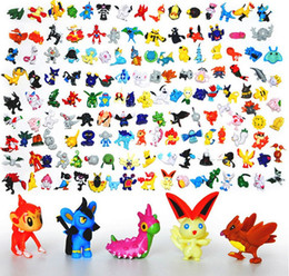 Wholesale Japanese figures set poke mon pikachu charizard figurine figuras doll for kids party supply decor