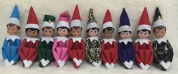 Wholesale 200 soft back book and elf doll a Christmas traditions Cartoon book Boy Girl Christmas Gift and style Plush doll