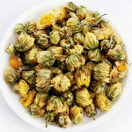 Wholesale 50Grams Premium Flower Tea Gloden China Chrysanthemum Tea With Individual Package For Good Health Herb Floral Tea Benefits