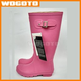 Wholesale Brand Rainboots for women Top Quality Rainboots Wellies Boots Waterproof High Boot Rainboots Waterproof Boots from wogoto
