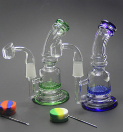 Wholesale TORO Fab egg Glass bong quot inches mini Bong TORO water pipe glass dab two function oil rig same as the pictures