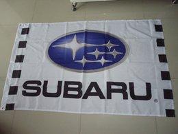 Wholesale car exhibition subaru car show flag for service subaru car banner X150CM size polyster