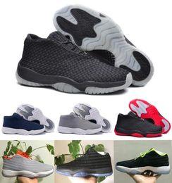 Wholesale Retro Future Shoes Basketball Shoe Men Women Hombre Zapatillas Sports Superstar dan Sneakers Airlis Futures Black Low