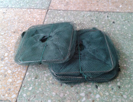 Wholesale New Fishing Trap Net Mesh for Crab Prawn Shrimp Crayfish Lobster Bel Live Bait Pot jy520