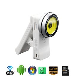 Wholesale wireless HD P Mini camera WiFi mobile phone remote monitoring IP cameras H multifunctional webcam camcorder