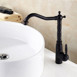 Wholesale American standards Antique Widespread Single Handle One Hole in Oil rubbed Bronze Bathroom Sink Faucet