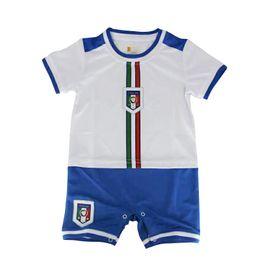 Wholesale Italy baby clothes Euro Cup Italy Soccer baby onesie romper Top cotton Chiellini Verratti De Rossi Pirlo