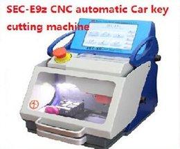 Wholesale Best Quality Original Auto Tool SEC E9z CNC automatic key cutting machine Multi Language Portugues Italian Russian High Security Car