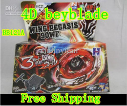 Wholesale Beyblade Beyblade metal fusion BB121A D SYSTEM BOTTOM ATTACK TOMY TOY in stock