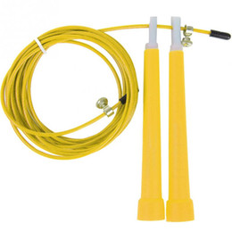 Wholesale Meters METAL BEARING skipping rope Speed Cable Jump Rope Crossfit MMA Box home gym