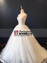 Wholesale Wipes bosom bind only beautiful high end foreign trade export import flexible pipe yarn customized wedding dress new fund sell like hot