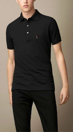 Wholesale hot classic men fashion London Summer polo shirt hight quality brand designer army logo casual polo shirt men polo shirts M XX