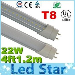 Wholesale UL Certification T8 W ft m Led Tubes Lights Leds SMD High Bright Cold Natrual Warm White AC V