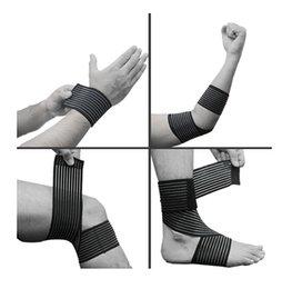 Wholesale Compression Bandage Wrap Elbow Wrist Knee Ankle Support Stabilizer Sprain Strain Elbow amp Knee Pads CM