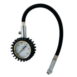 Wholesale Durable Dial Mechanical Tire Pressure Gauge psi with swivel chuck Professional for any vihiclesl
