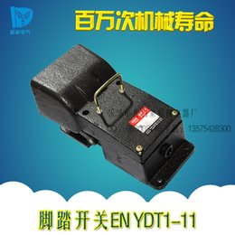 Wholesale EN YDT1 Hydraulic press brake pedal switch cast iron pedal switch numerical control machining machine control pedal