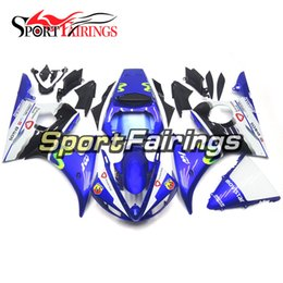 Injection Complete Fairings For Yamaha YZF600 R6 YZF-R6 05 2005 ABS Motorcycle Fairing Kit Blue Cowlings