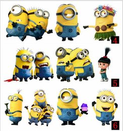Wholesale 3D newest Despicable Me Minions Cute Universality case for Volkswagen Toyota Audi all car whole body car styling sticker