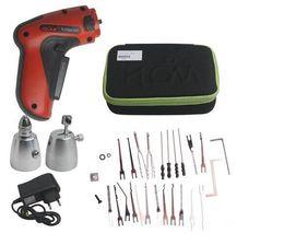 Wholesale HOT KLOM Cordless Electric Lock Pick Gun Auto Pick Guns Lockpicking Locksmith Tools Electric Lock Pick Gun for Europe