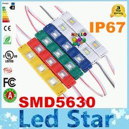 Wholesale LED module light lamp SMD waterproof LED modules for sign letters LED back light SMD5730 led W lm DC12V