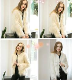 Desconto women s faux fur vest Casaco quente Fsahion Longo Mulheres Faux Fur Vest Faux Fur Fox Fur Vest Colete Feminino Além disso,