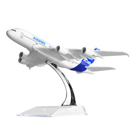 New hot sale 1:400 AIRBUS A380 16cm alloy metal model aircraft child Birthday gift plane models chiristmas gift