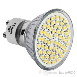 Promotion gu4 conduit GU10 MR11 GU4 LED Spotlight 3W AC220V chaud Ampoule blanc 3528SMD 60 LED Spot Light Lamp 3200K 350LM