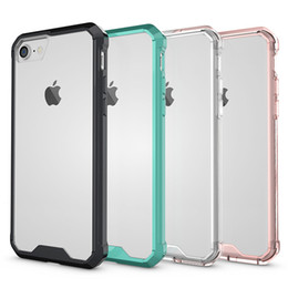 Ultrathin Shockproof Flexible Clear Crystal Soft TPU Case Slim Armor Transparent Cover for iPhone X 8 7 6 6S Plus Samsung S8 S7 edge NOTE 8