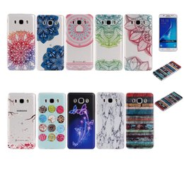 Wholesale Fashion Flower Henna Mandala Soft TPU Gel Case For Huawei Mate Galaxy J710 J510 J310 Butterfly Marble Paisley Floral tribe Doughnut Cover