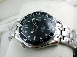 Wholesale Luxury James Bond Mens Watch Professional Planet Ocean Co Axial Dive Wristwatch Men Watches