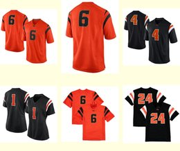 Wholesale Men s Women Youth Kids Oregon State Beavers Personalized Customized NCAA jersey Black Orange Any Name Any Number Top Quality Drop Shipping