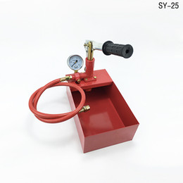 Wholesale Hydraulic Test Pump with Tank Mpa Model SY