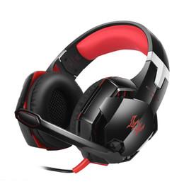 Casque stéréo xbox en Ligne-GS600 casque stéréo casque stéréo casque avec microphone pour XBOX 360 / PS3 / PS4 / PC ordinateur portable / téléphones portables - Blackred