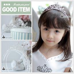 Lovely Girl Princess Tiaras Headbands 2016 New Children Dress Accessories Cute Girls Hair Band Kids Wedding Birthday Party Hair Accessories