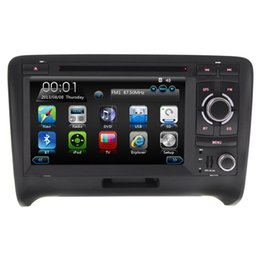Wholesale quot Touch Screen Special Car DVD Player GPS Navigation for Audi TT Radio G WiFi