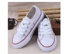 Wholesale have bran logo New brand high low help shoes boys and girls children canvas shoes and sports stars Lace Up children shoes