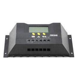 30A 48V Солнечный контроллер заряда цифровой ЖК-дисплей панели солнечных батарей Свет управления Таймер для выключения сетки солнечной системы стабилизатора напряжения от Производители панели солнечных батарей регулятора контроллер заряда