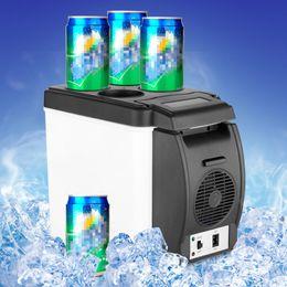 Wholesale 2016 Newest Portable V L Auto Car Mini Fridge Travel Refrigerator Quality ABS Multi Function Home Cooler Freezer Warmer
