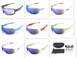 Wholesale bike glasses Polarized Anti Fog Cycling bici velo eyewear POC DO Bicycle Sunglasses lens Bike Casual Goggles Outdoor sports D615