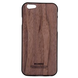 Wholesale BECKGERGE Rainforest Series Nature Wood veneer with TPU Phone Case For Iphone SE s plus Shell Cover