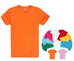 Wholesale Best Cotton Short Sleeve T Shirts work clothes Crew Neck Men T shirt Individuality Printing Logo Via FedEx Ship