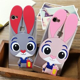 Cute Judy Cell Phone Cases Lovely Rabbits Phone Covers with Soft TPU for Huawei P9 Mate 8 32