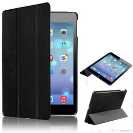 Wholesale Ultra Slim Smart Magnetic Leather Back Case Cover for iPad Air ipad5 Protective Skin Pouch Cases Bag